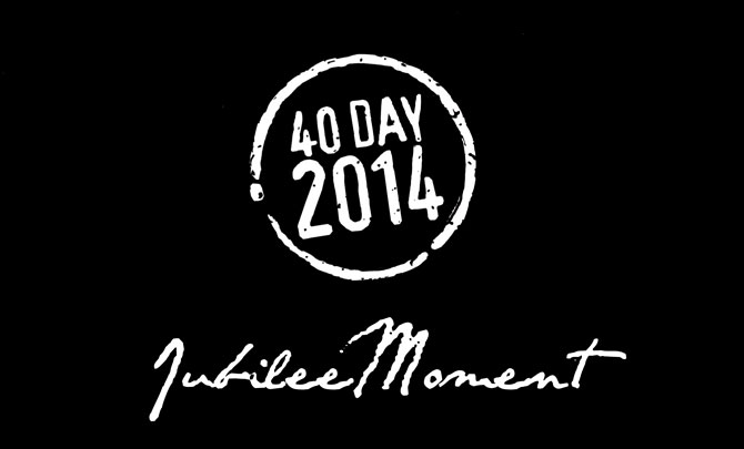 40 Days Of Prayer: Jubilee Moment