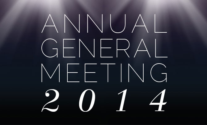 Notice for Annual General Meeting 2014