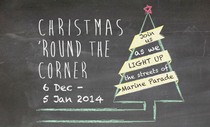 Christmas 'round the Corner: Light Up Your Hearts