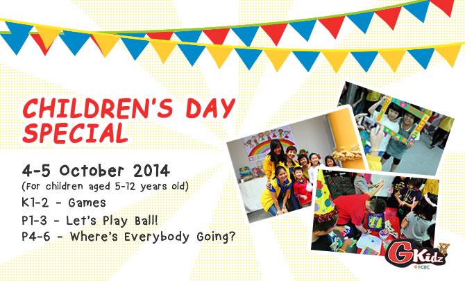 Children's Day Special @ GKidz!