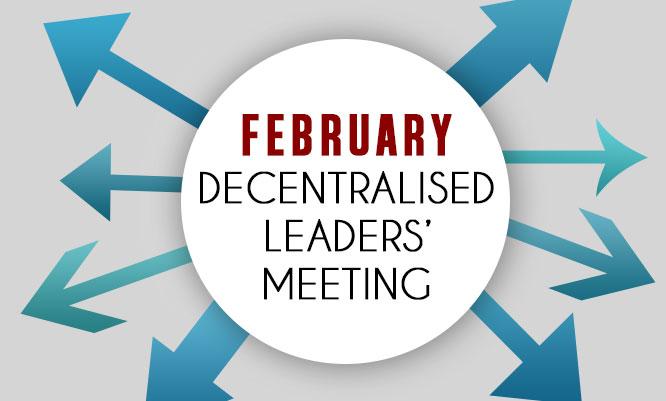 Decentralised Leaders' Meeting