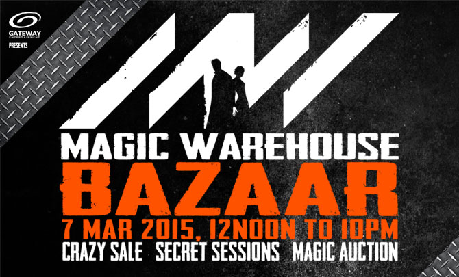 Magic Warehouse Bazaar