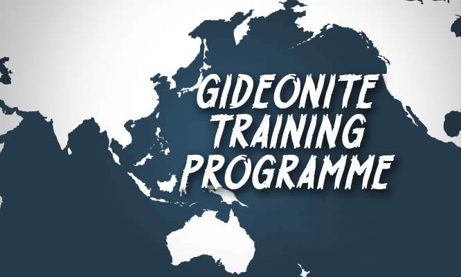 Registration for Gideonite Training Programme now open!