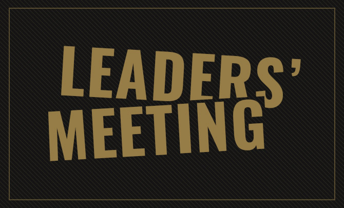 Leaders' Meeting