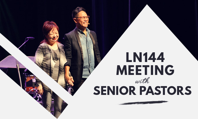 LN144 Meeting with Senior Pastors