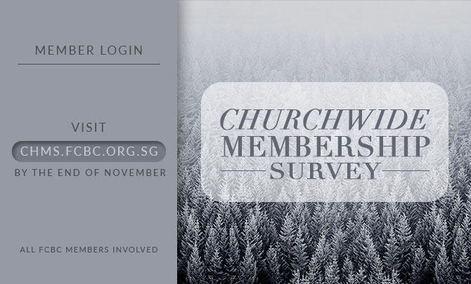 Churchwide Membership Survey