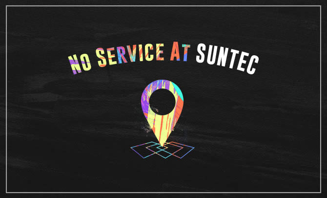 No Service at FCBC Suntec