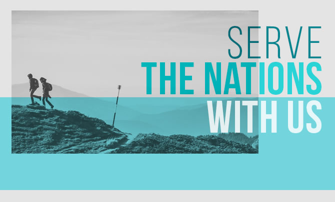 Serve The Nations With Us