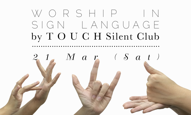 Sign Language for Worship