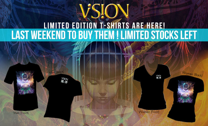 Limited Edition VISION T-Shirts