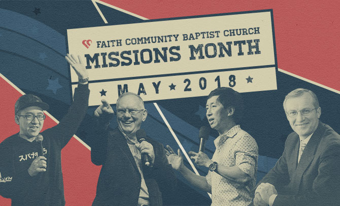 Missions Month Speakers – May 2018